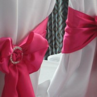 ROOKERY HALL PINK BOWS WITH BUCKLES